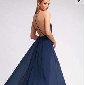 Lulu's Mythical Kind of Love Maxi Dress